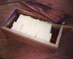 木製バターケース