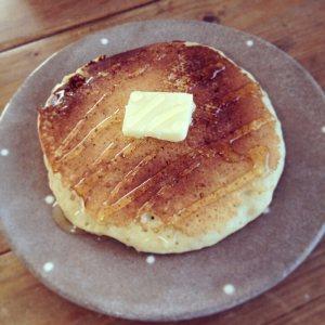 卵なしホットケーキ