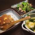 給料日前の節約レシピもやしでかさまし麻婆豆腐