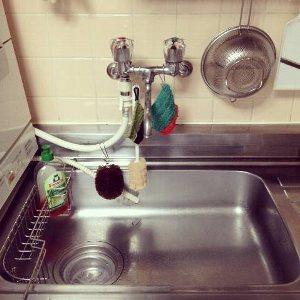 洗剤ラック位置