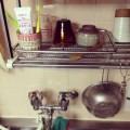 吊り棚洗いかご