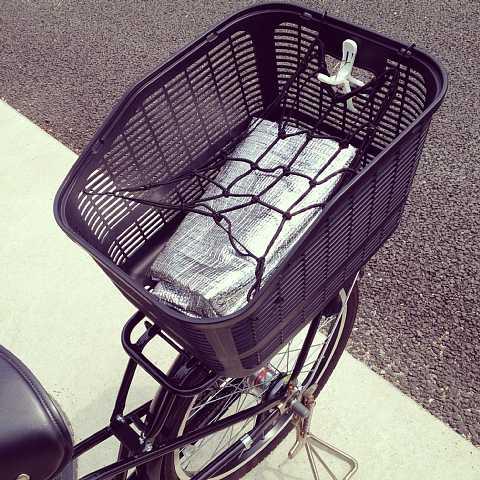自転車子ども乗せ暑さ対策