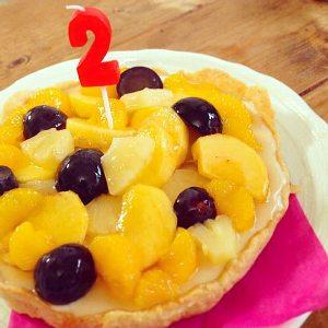 2歳誕生日ケーキ