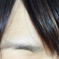 黒髪 アイブロウ マスカラ