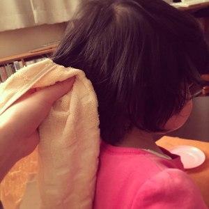 子ども髪乾かす嫌がる