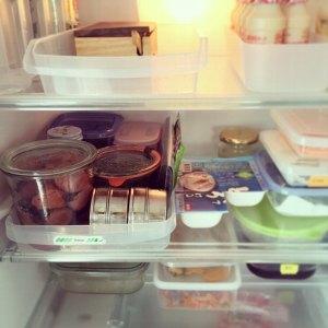 冷蔵庫のおにぎりセット