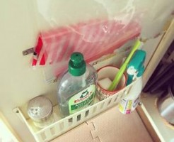 洗剤を収納