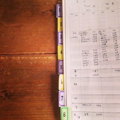 無印家計簿2