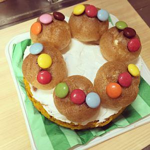 アンパンマンデコケーキ