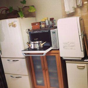 狭いキッチン調理スペース1
