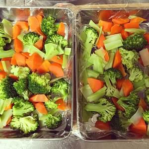 自家製冷食野菜ミックス