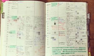 主婦日記 書き方