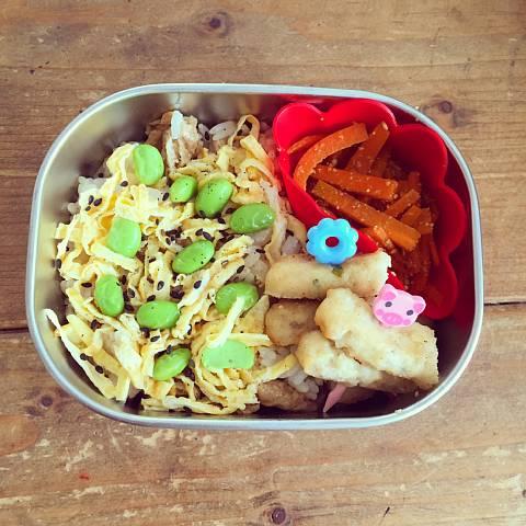 幼稚園お弁当ちらし寿司