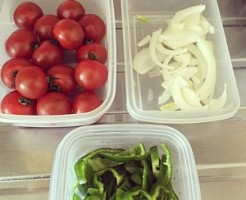 野菜の下準備