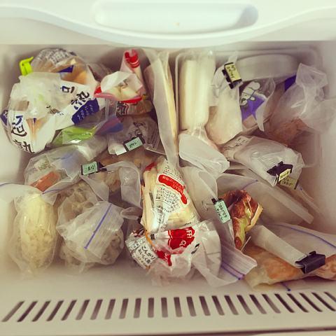 冷凍庫ぎゅうぎゅう
