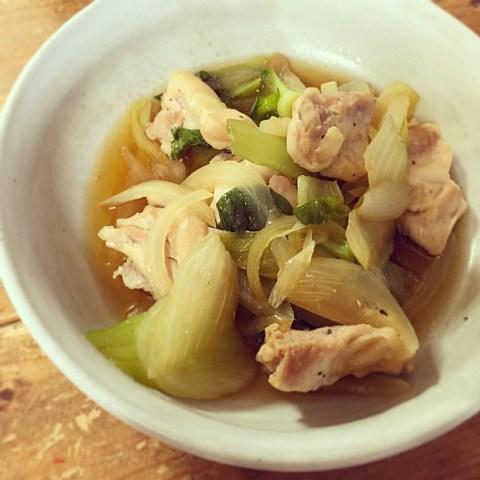 レンチンやせるおかず 鶏肉の中華煮