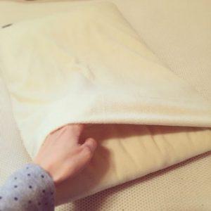 マイクロフリース枕カバー