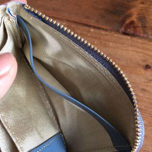 L字ファスナー ミニ財布