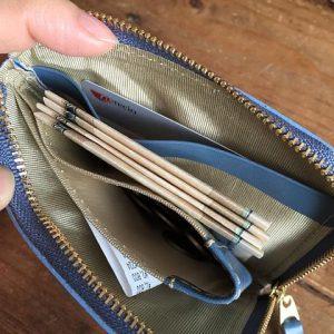 コンパクト 本革 ミニ財布