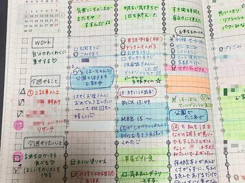 ジブン手帳 ウィークリー バーチカル