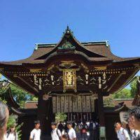 京都・北野天満宮へお宮参りに行ってきました!食事は西院・せんしょうの近江牛会席でお肉好きも大満足