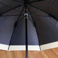 まだ日焼け止めを塗れない赤ちゃんとのお出かけに、遮光100%のシンプルでおしゃれな日傘を新調しました