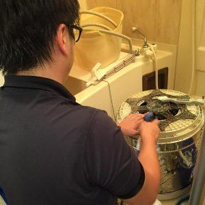 洗濯槽 業者 クリーニング