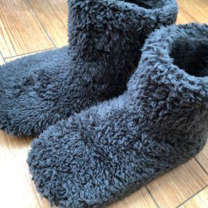 暖かい、洗える*足首丈のMianshe 北欧もこもこルームシューズをレビュー